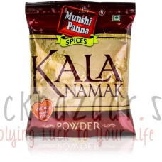 Black Salt Kala Namak, 100 g, produced by Munshi Panna; Black salt Kala Namak, 100 g, Munshi Panna