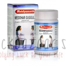 Medohar Guggul, weight loss, tab 120, manufacturer Baydyanath; Medohar Guggulu, 120 tabs, Baidyanath