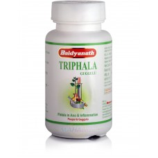 Triphala Guggul, Table 80, the manufacturer Baidyanath; Triphala Guggulu, 80 tabs, Baidyanath