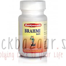 Brahmi Vati, a tonic for the brain, Table 80, the manufacturer Baydyanath; Brahmi Bati, 80 tabs, Baidyanath