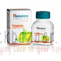 Triphala for cleansing of toxins, Table 60, the manufacturer Himalaya; Triphala, 60 tabs, Himalaya