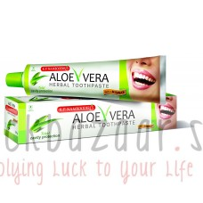 Aloe Vera Herbal Toothpaste, 100 g, manufacturer KP Nambudiris; Aloe Vera Herbal toothpaste, 100 g, KP Namboodiri's