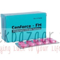 Cenforce FM 100 Mg - for Woman - 1 strip of 10 tablets