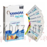 Kamagra 100mg Oral Jelly - weekly packet 7 sachets