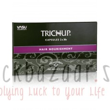 Herbal capsules for hair growth Trichup 60 cap, producer Vasu; Trichup capsules Hair Nourishment, 60 caps, Vasu